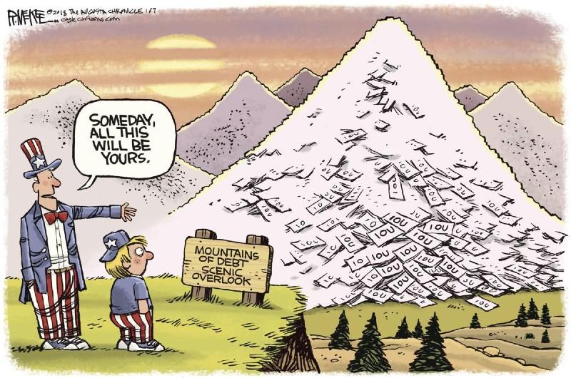 A Mountain of Debt