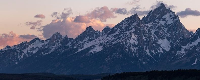 In the Shadow of the Tetons